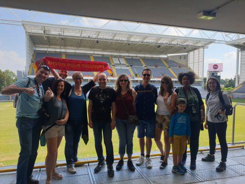 Les #BlogueursHdF au Stade Bollaert de Lens