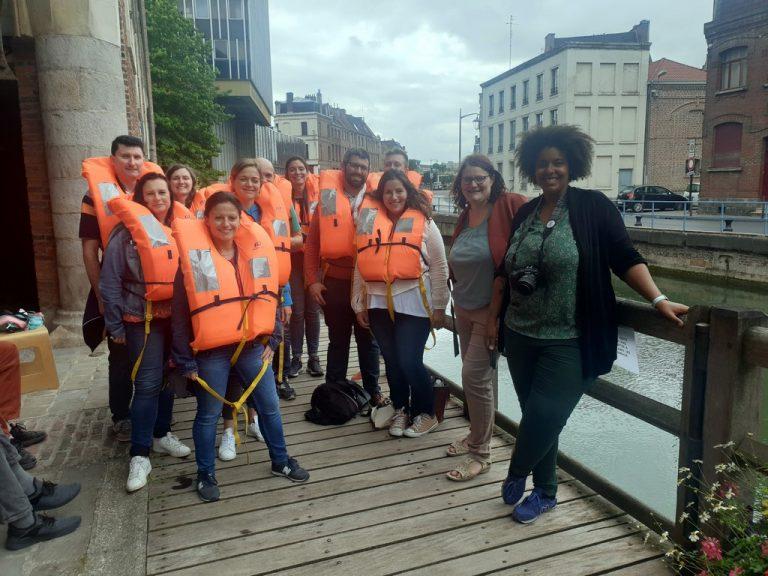 Les #BlogueursHdF partent en barque ...