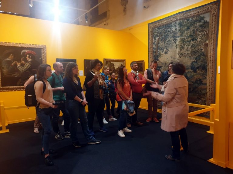Visite de l'expo Bière au Musée de la Chartreuse